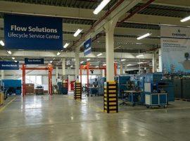 مركز خدمات معايرة التدفق في «إيمرسون» يحصل على شهادة دولية