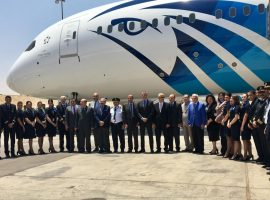 «مصر للطيران» تسير أطول رحلة جوية بالوقود الحيوي