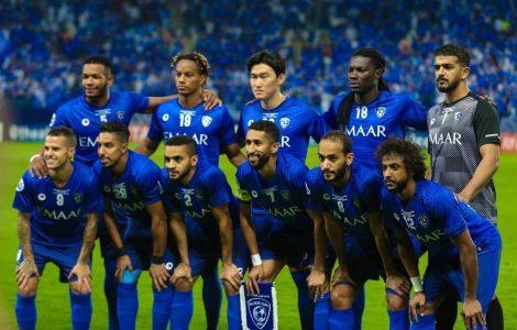 بسبب إصابات عدد من الفريق بكورونا .. الهلال السعودي يبدأ مباراة أهلي دبي بـ9 لاعبين