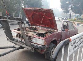 مطروح تنفذ حملات لرفع السيارت المتهالكة والمتروكة فى الشوارع