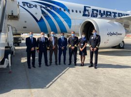 مصر للطيران تتسلم الطائرة الخامسة من طراز الإيرباص A320Neo الجديدة