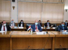 لجنة إيراد النهر تناقش خطة إدارة المياه والإعداد للموسم الزراعى الصيفى