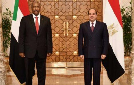«سد النهضة وأزمة الحدود مع إثيوبيا».. تفاصيل لقاء السيسي والبرهان في السودان