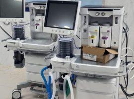 وصول جهازى تخدير ضمن دعم محافظة مطروح للمستشفى العام بمبلغ 10 ملايين جنيه